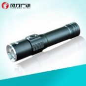 Pocket LED Flashlight Working Lamp Strong Magnet Fishing Hiking Camping Light Outdoor Survival Recharge Cree Q5-XPE 5W Zoomable