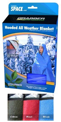 Grabber Outdoors Original Space Brand Sportsman's Hooded Blanket/Poncho: R...