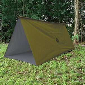 UST Tube Tarp and Camping Shelter, Green