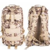 Military Tactical Assault Molle Day Backpack Hydration Pack 3P Outdoor Sports Camouflage Camping Hiking Travel Wild Survival Bag
