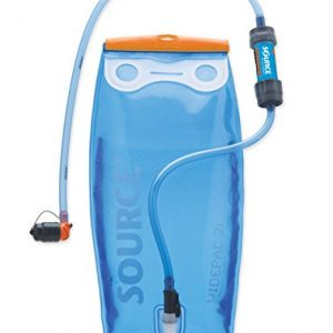 Source Outdoor Widepac 2L Hydration Reservoir with Helix Bite Valve + Sawyer Products Mini Water Filter