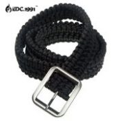 FREE SHIPPING Hand-made Mil Spec Type III 7 Core Strand Survival Parachute Cord Paracord Belt Camping Belt Waistband Girdle EDC