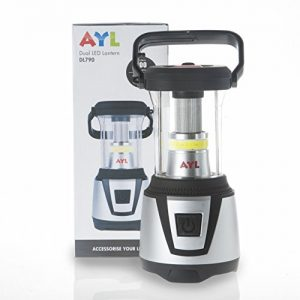 AYL DL790 Water Resistant 360 Degree LED Lantern plus Flashlight, For Camping, Emergency, Backpacking, Hiking, Outdoor Adventures