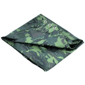 P-Line Multi-Purpose Camouflage Poly Tarp Cover Tent Shelter Camping Hiking Tarp...