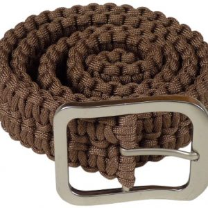 Stone River Gear Paracord Survival Belt, Olive, Medium