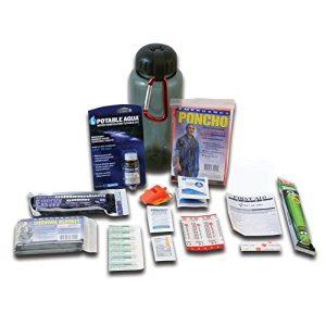 Ready America 70060 Deluxe Water Bottle Survival Kit