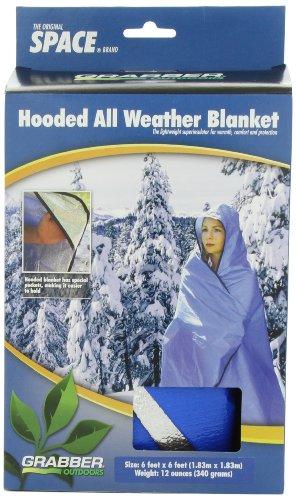 Grabber Outdoors Original Space Brand Sportsman's Hooded Blanket/Poncho: B...