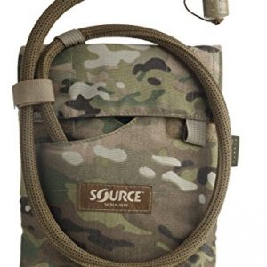 Source Tactical Kangaroo 1-Liter Collapsible Canteen Hydration System with Pouch, Multicam