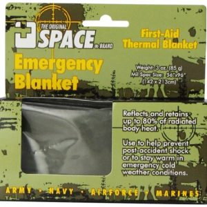 Grabber Outdoors The Original Space Brand Emergency Tactical-Survival Blanket- O...