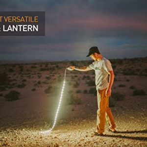 Luminoodle LED Rope Lights for Camping, Hiking, Safety, Emergencies – USB Powered Portable LED String Light That Doubles as an LED Lantern