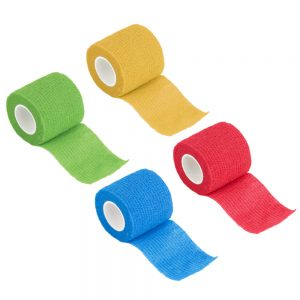 Self-Adhering Bandage Wraps Elastic Adhesive First Aid Tape Stretch 5cm Joints Support Waterproof Breathable Emergency Tool