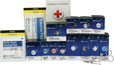 First Aid Only Food Service First Aid Refill Pack, 25 Person, Medium SmartCompliance, ANSI A (90692)