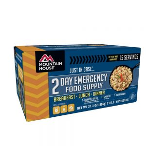 Just In Case 2-Day Emergency Food Supply Kit